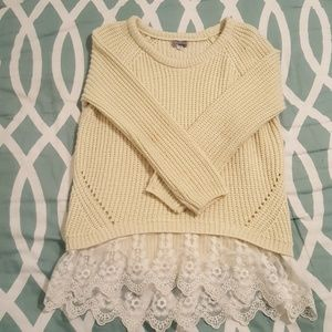 Other - Girls knit sweater 7/8